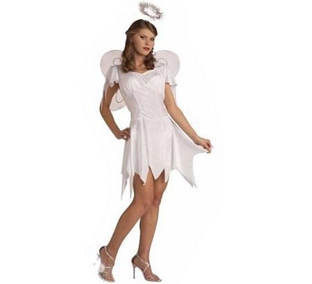 angel mujer sencillo
