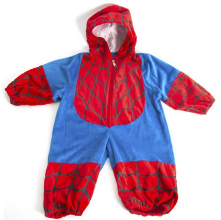 bebe spiderman