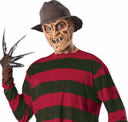 Disfraces de películas: Freddy Krueger