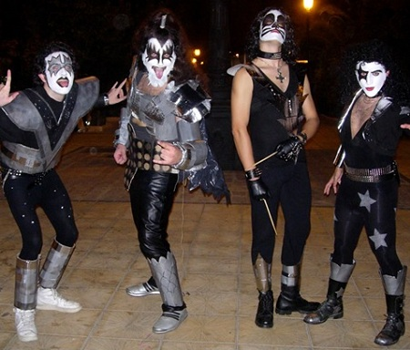 disfraces grupo kiss