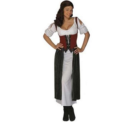 disfraces medievales campesina tunica