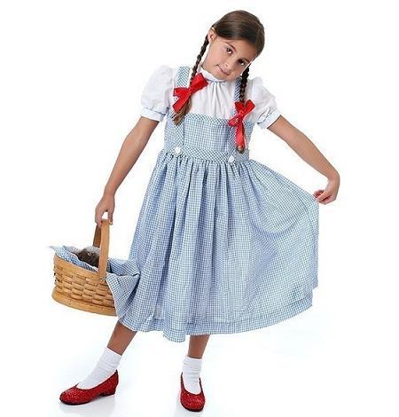 Disfraces para niños de Carnaval: Dorothy