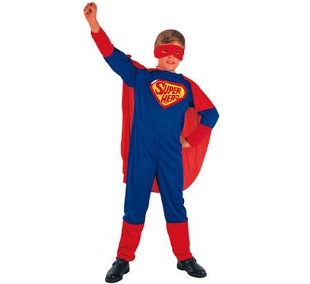 disfraz barato superheroe