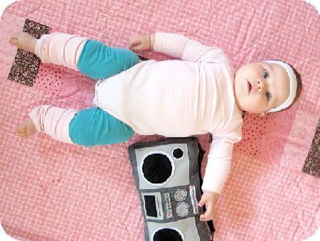Disfraces originales para bebé: Gimnasta