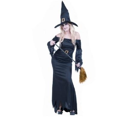 disfraz bruja negra