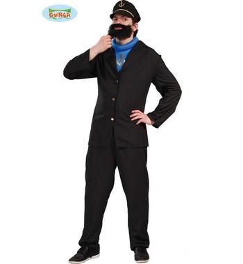 Disfraz Carnaval de Capitán Haddock