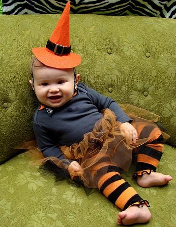 disfraz casero bebe bruja