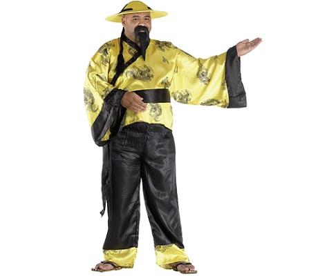 disfraz chinos mandarin