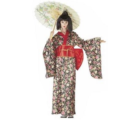 disfraz chinos sombrilla