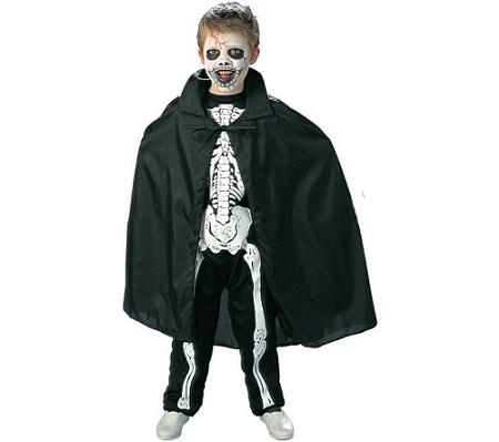 disfraz esqueleto nino