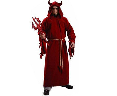 disfraz halloween demonio