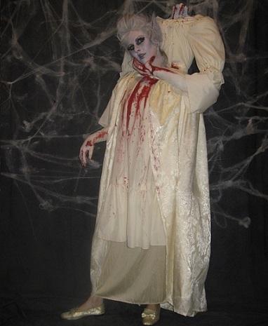 disfraz halloween muerta