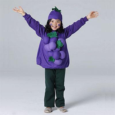 Disfraz infantil casero