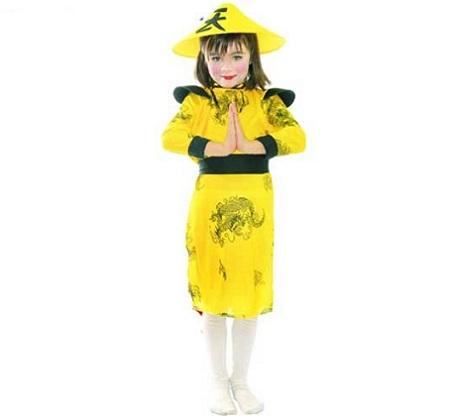 disfraz nina china