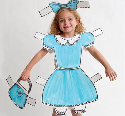 Disfraces originales: mariquita recortable