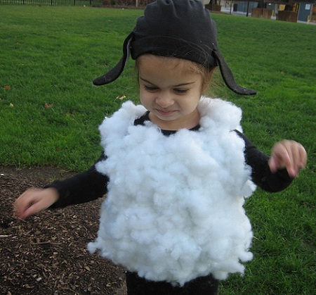 disfraz oveja casero