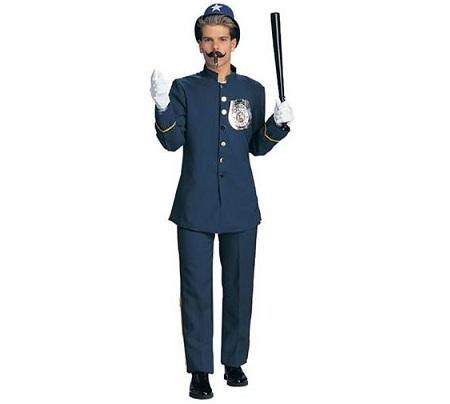 disfraz policia comico