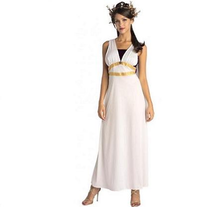 disfraz romana dorado
