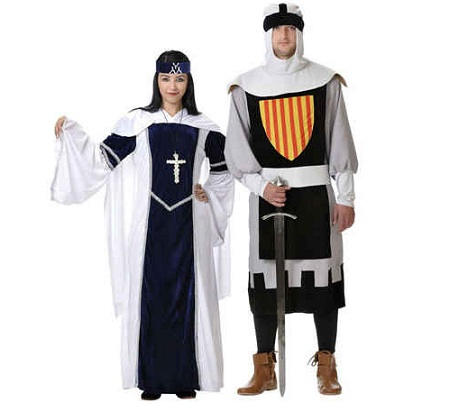 medievales pareja nobles