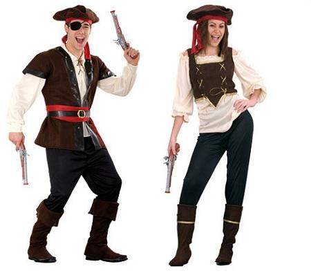 pareja corsarios