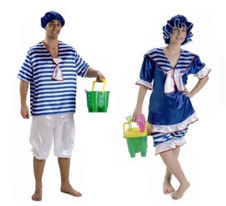 pareja marineros