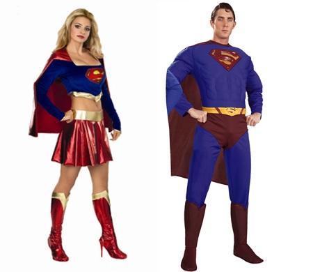 pareja superman