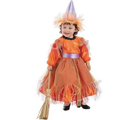disfraz bebe halloween brujita