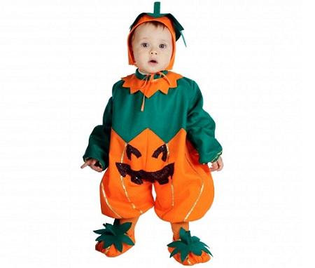 disfraz bebe halloween calabaza
