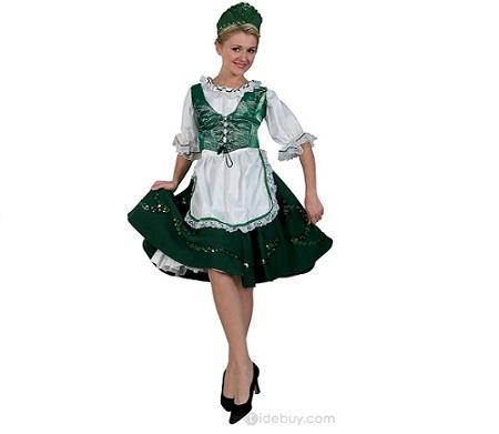 disfraz san patricio irlandesa