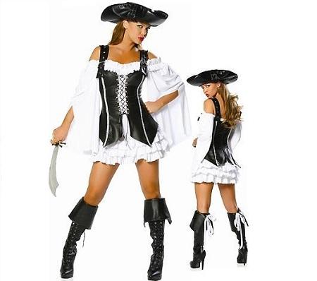 disfraces despedida mujer sexys pirata