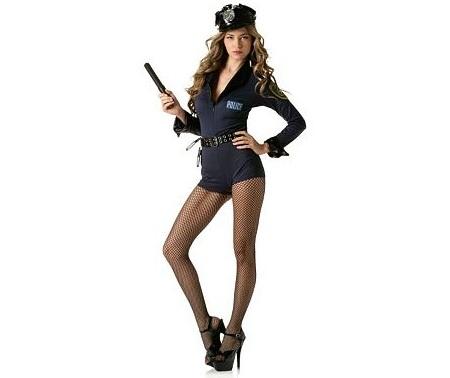disfraces despedida mujer sexys policia