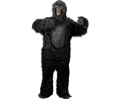 disfraces animales hombre gorila