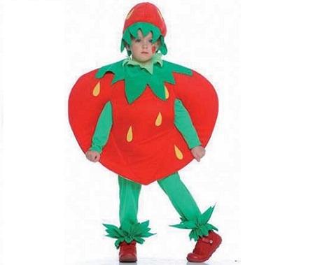 disfraces baratos nino fresa