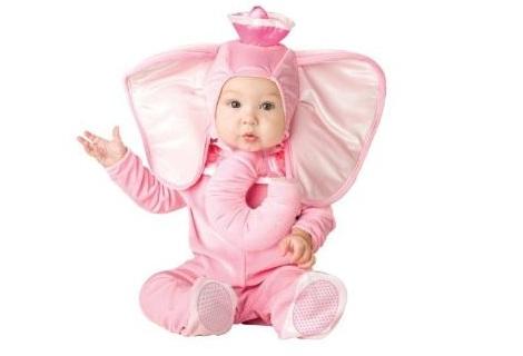 disfraces para bebes animales elefante