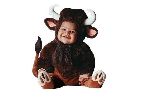 disfraces para bebes animales toro