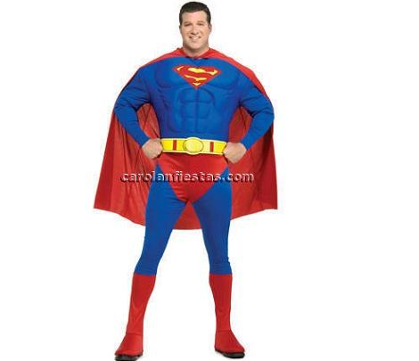 disfraz comic superman