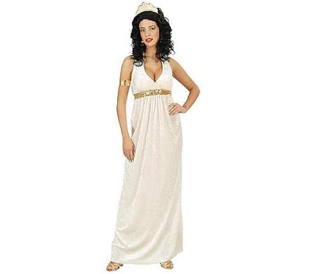 disfraz griega largo