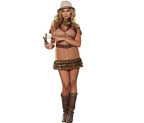 5 disfraces mujer sexy safari