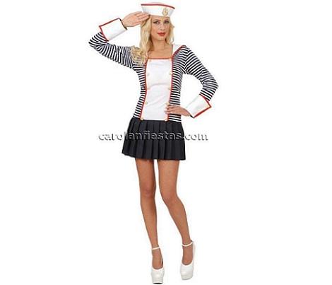 disfraces caseros sexys mujer marinera