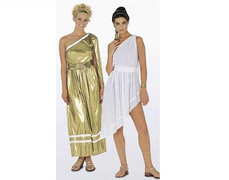disfraces griegos mujer
