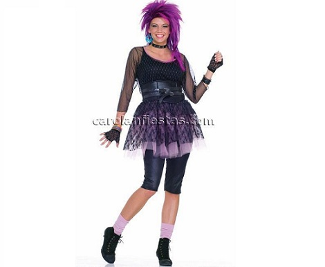 disfraces mujer divertidos los 80