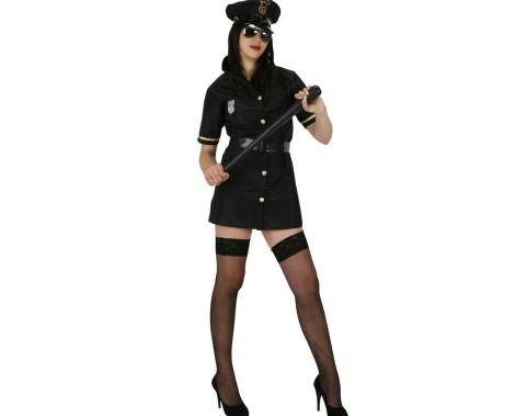 disfraces mujer divertidos policia