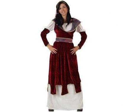 trajes medievales mujer corte