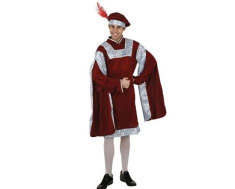 disfraces carnaval baratos medieval chico