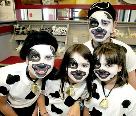 disfraces caseros vaca