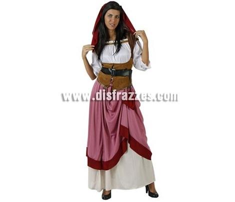 disfraces medievales mujer campesina