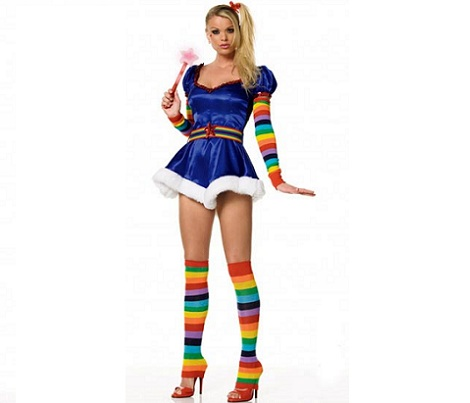 disfraces mujer sexys arcoiris