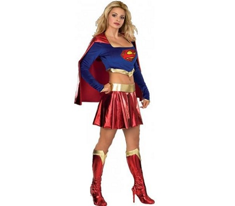 disfraces mujer sexys superman