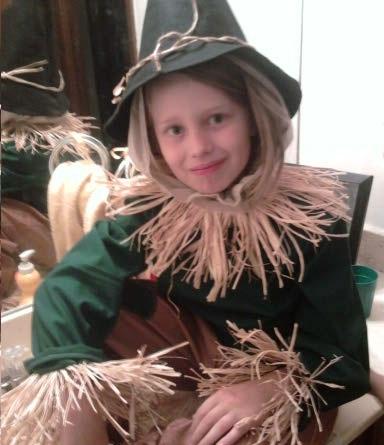 disfraz casero nino espantapajaros