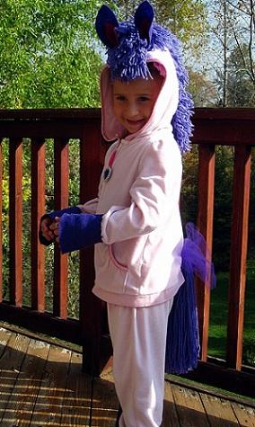 disfraz casero nino poni